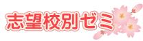 新年長 志望校別ゼミ